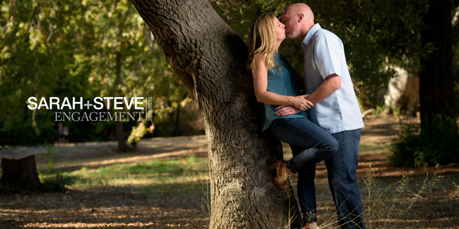 Vasona Park Engagement / Family Photos - Sarah and Steve - by Bay Area wedding photographer Chris Schmauch