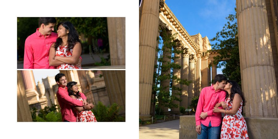 Palace of Fine Arts Engagement Photography - San Francisco - Astha and Chris - by Bay Area wedding photographer Chris Schmauch www.GoodEyePhotography.com
