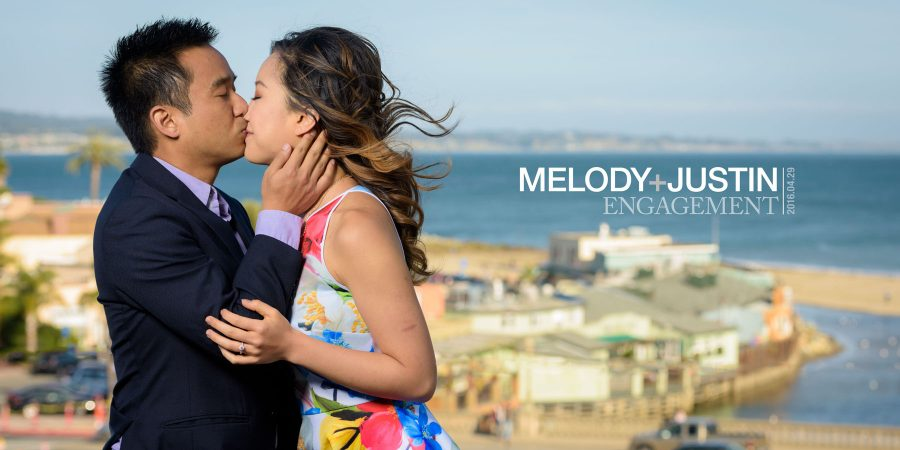 Capitola Beach and Natural Bridges Engagement Photos - Melody and Justin - by Bay Area wedding photographer Chris Schmauch