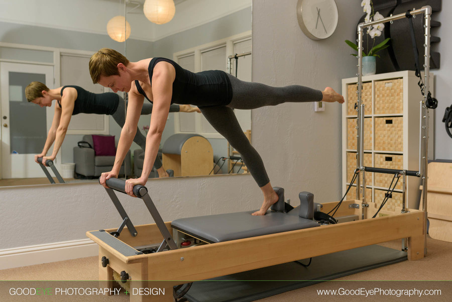 Los Gatos Pilates Fitness Photography - Grace W - by Bay Area commercial photographer Chris Schmauch