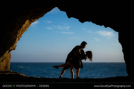 Proposal / Engagement Photography at Panther Beach in Santa Cruz, California