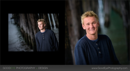 Senior Portrait Photography at Capitol Beach – Jacob