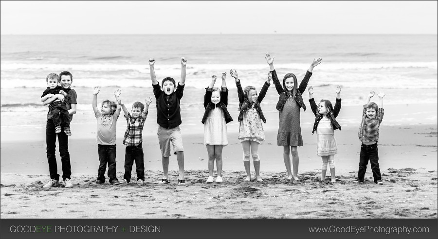 Pajaro Dunes family photography - by Bay Area portrait photographer Chris Schmauch www.GoodEyePhotography.com