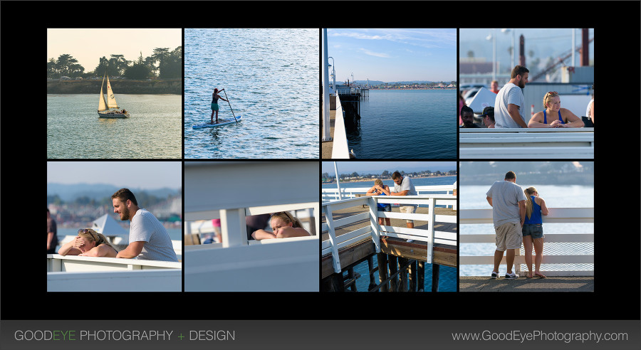 Proposal / Engagement Photos - Santa Cruz Wharf - Brian and Kaela - by Bay Area wedding photographer Chris Schmauch www.GoodEyePhotography.com