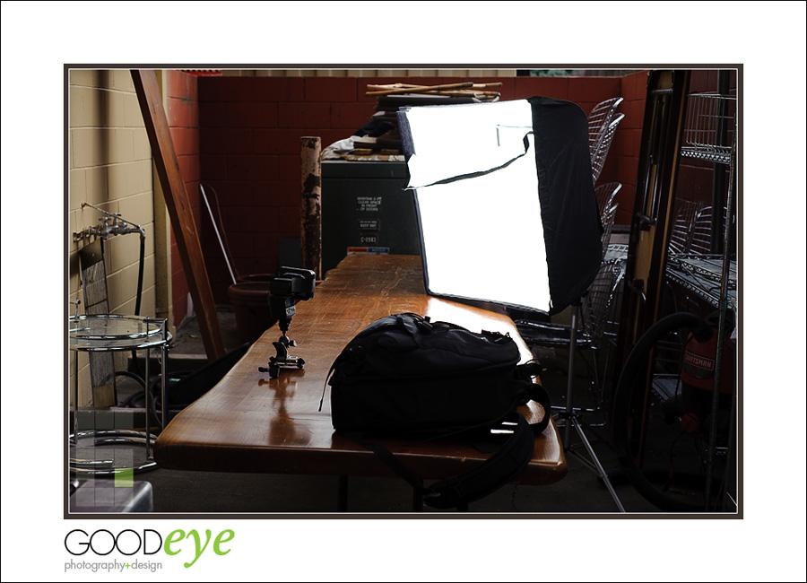 GoodEye Photography - Professional Bay Area Food Photography - Kaama Lounge, Spilled Milk, San Jose - Lighting Setup