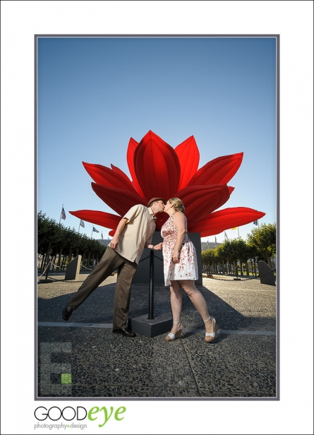 Engagement Photo - City Hall - San Francisco - Zak and Renee
