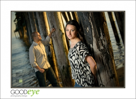 Capitola Beach Engagement Photos
