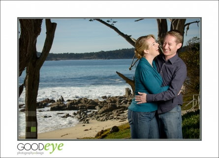 Carmel Beach Engagement Photos