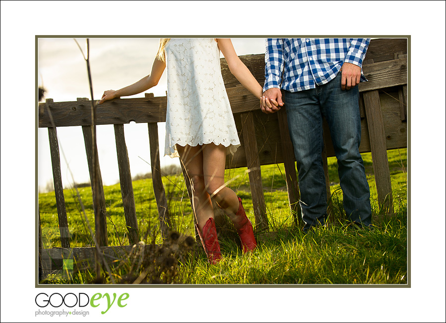 Wilder Ranch Country Style Engagement Photos