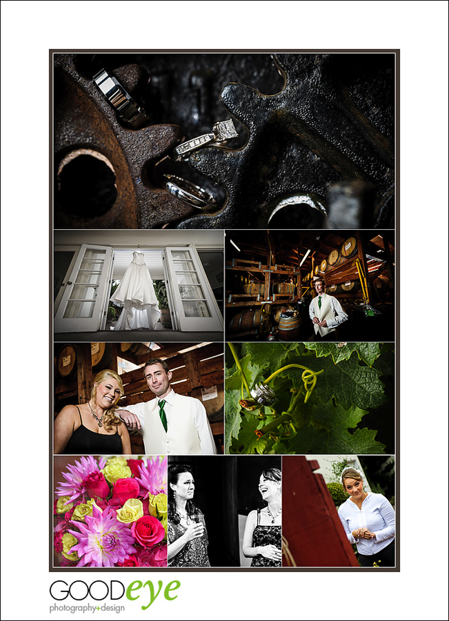 Bargetto Winery Wedding Photos