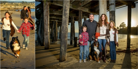 Capitola Family Portraits in a Well-Designed Album