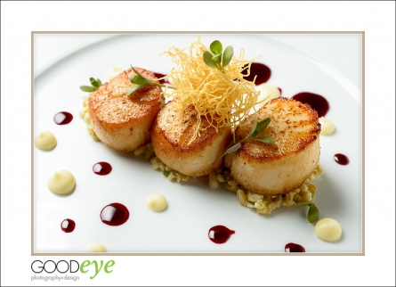 Scallops - Food Photos - by Bay Area food photographer Chris Schmauch