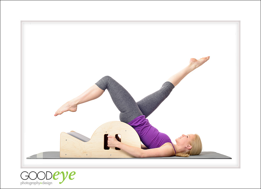 Pilates Fitness Photos on a Mat - By Bay Area Portrait Photographer Chris Schmauch