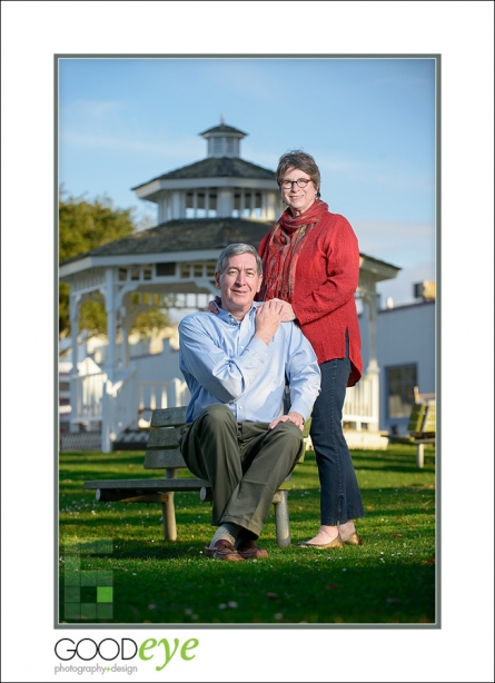 Pacific Grove Couples Portrait Photos for a Magazine