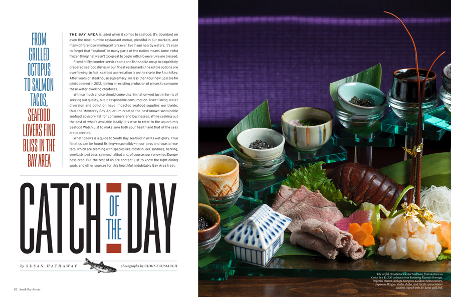 Sensational Seafood Story - Food Photography by Bay Area Food Photographer Chris Schmauch
