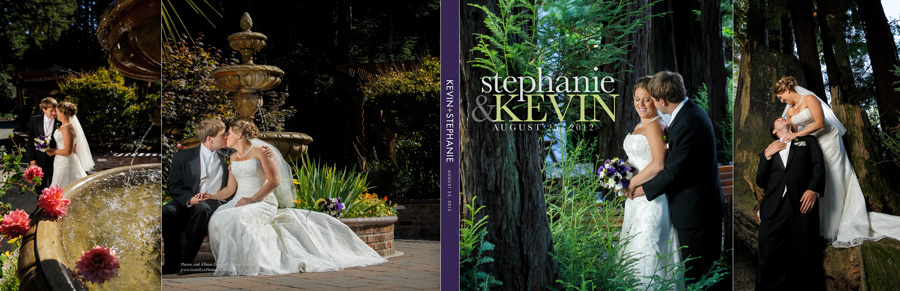 Felton Guild Wedding Photos - Album Layout - by Bay Area Wedding Photographer Chris Schmauch