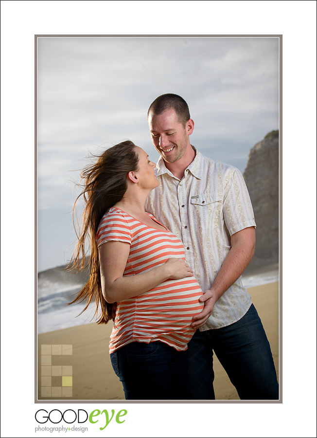 Santa Cruz Maternity Photos - Panther Beach - Tyler + Katie