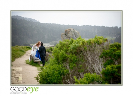 Wedding Rock - Carmel elopement photos