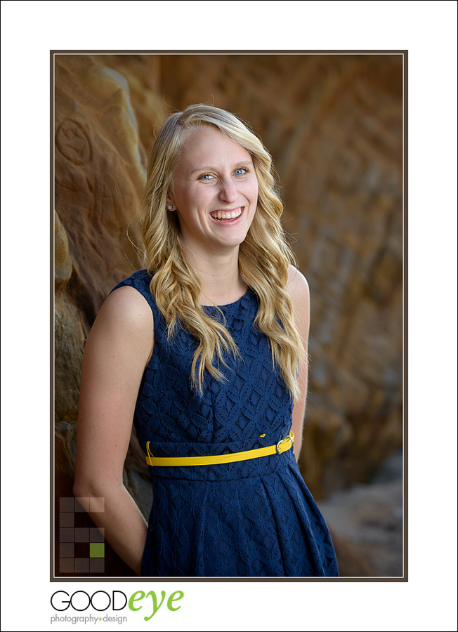 High School Senior Portraits - Panther Beach - Santa Cruz - Emily R