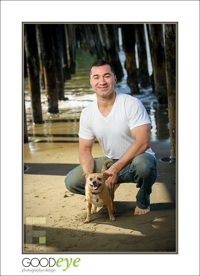 Capitola Beach Maternity Photos