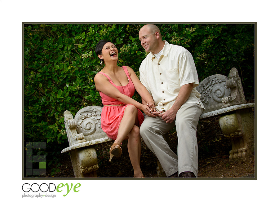 Villa Montalvo Engagement Photos - by Bay Area Wedding Photographer Chris Schmauch
