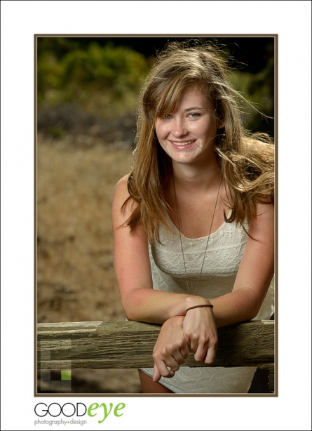 Santa Cruz High School Senior Portrait Photos - Natural Bridges State Beach