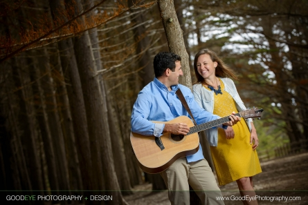 Fitzgerald Marine Reserve - Moss Beach Engagement Photos - Crystal and Ben