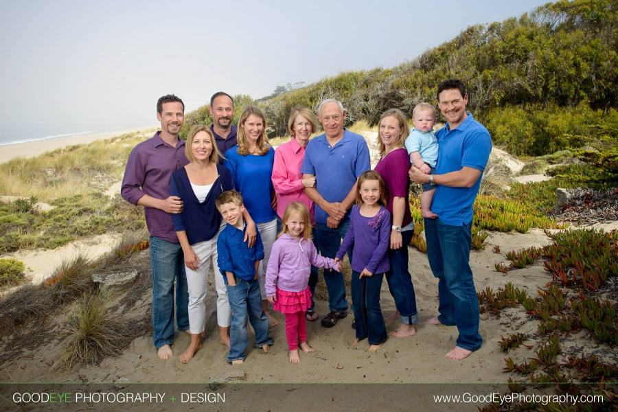 The sandlunds multi generation family photography pajaro dunes watsonville california