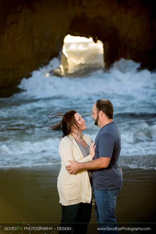Pfeiffer Beach Engagement Photos - Big Sur - Liz and Scott