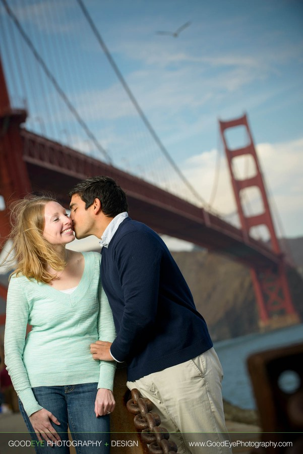 Fort Point Engagement Photos - San Francisco - Carly and Josué