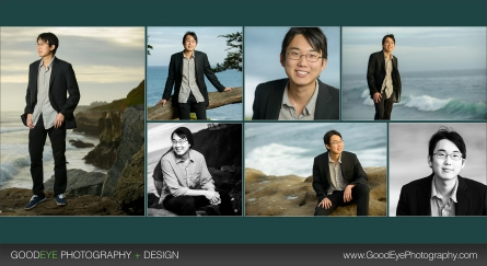 Business Headshot Photos - West Cliff Drive - Santa Cruz - California