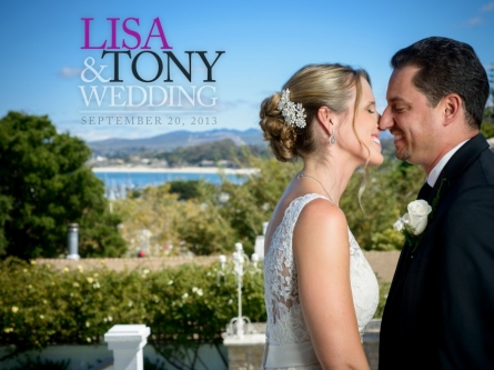 The Perry House Monterey Wedding Photos - Lisa and Tony