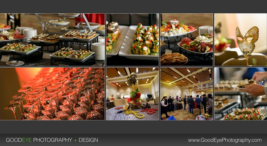 Santa Clara Convention Center - Corporate Holiday Event Photography