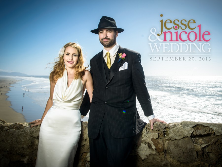 Shakespeare Garden and Half Moon Bay Colony Club Wedding Photos - Nicole and Jesse