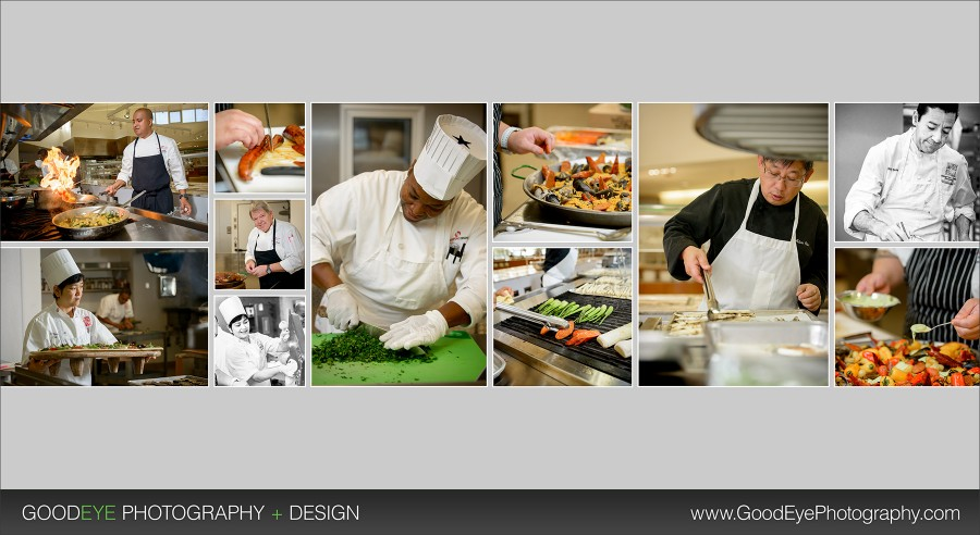 Stanford Dining - Cooking Candid Photos
