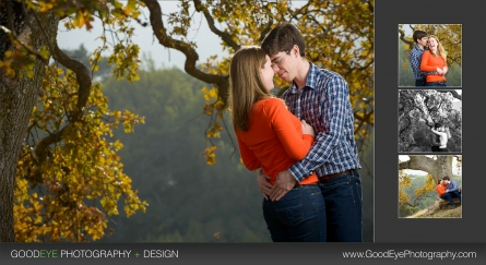West Wind Barn Los Altos Hills Engagement Photos