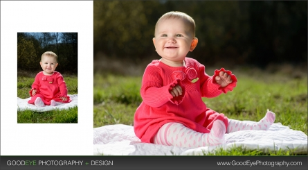 Baby Kaitlin at 8 Months Old - Children Photography by Bay Area Photographer Chris Schmauch