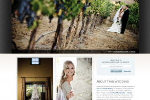 Clos LaChance wedding photos - by Bay Area wedding photographer Chris Schmauch