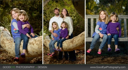 UCSC Arboretum - Santa Cruz family photos