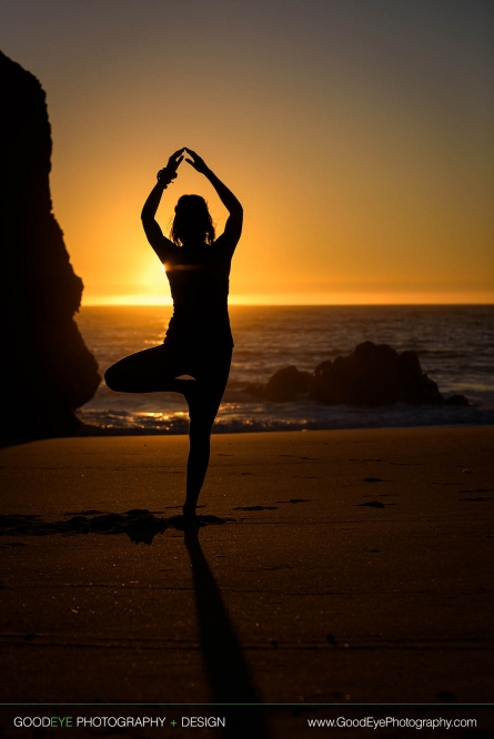 Yoga Photos – Panther Beach, Santa Cruz – by Bay Area portrait photographer Chris Schmauch www.GoodEyePhotography.com
