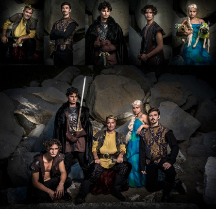 Game of Thrones Themed family photo session - by Bay Area photographer Chris Schmauch www.GoodEyePhotography.com