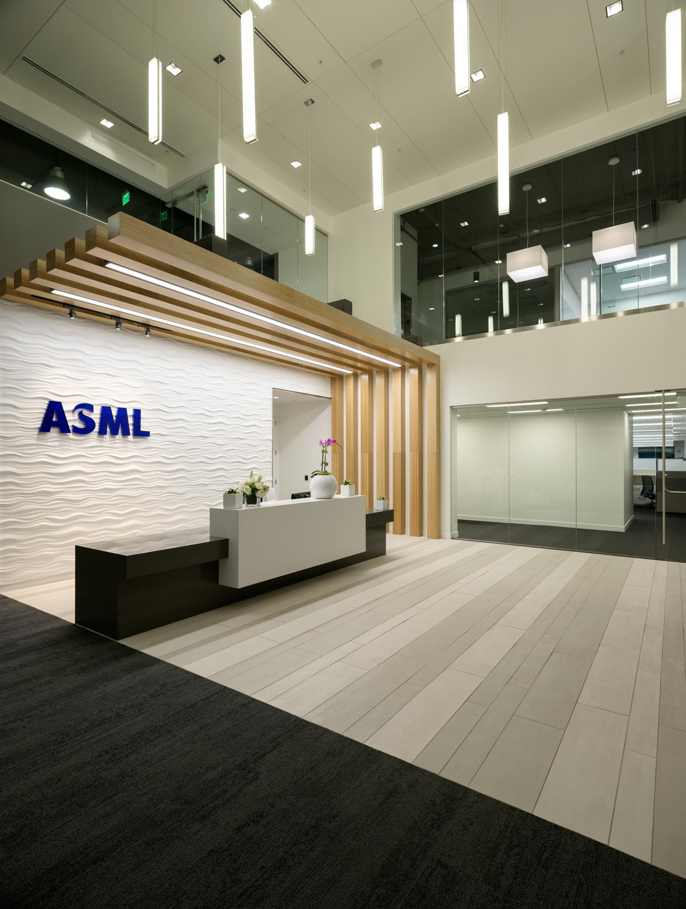 commercial interior architecture photography in san jose asml
