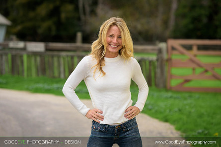 Lifestyle business portrait photography at Wilder Ranch in Santa Cruz, California