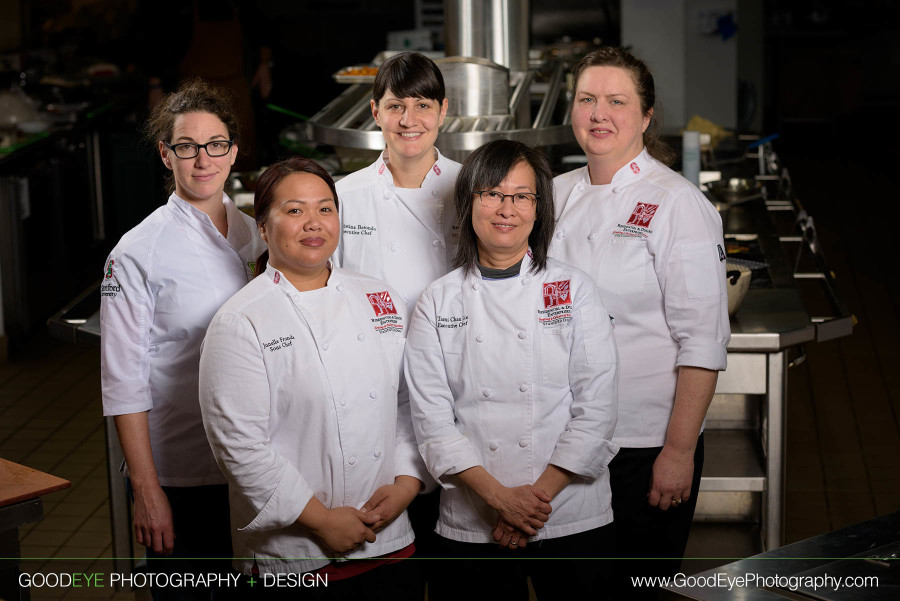 Female Chef Portrait Photography at Stanford Campus in Palo Alto, California