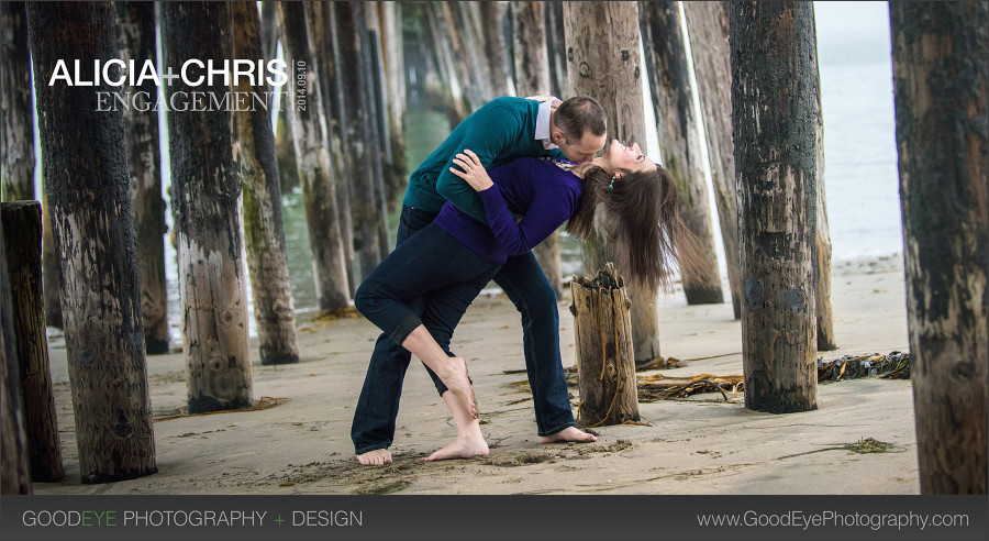 Capitola Engagement Photos – Alicia and Chris – by Bay Area wedding photographer Chris Schmauch www.GoodEyePhotography.com