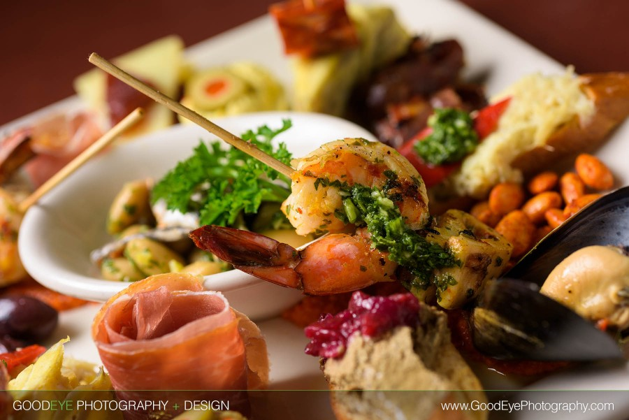 Tapas Sampler Plate - Mountain View Food Photography at Cascal Restaurant