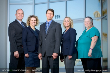 Watsonville group and individual business portrait photography - by Bay Area portrait photographer Chris Schmauch www.GoodEyePhotography.com