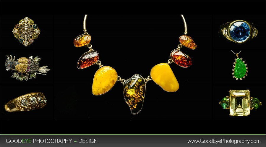 High-End Jewelry Product Photography - Los Altos - by Bay Area Photographer Chris Schmauch www.GoodEyePhotography.com