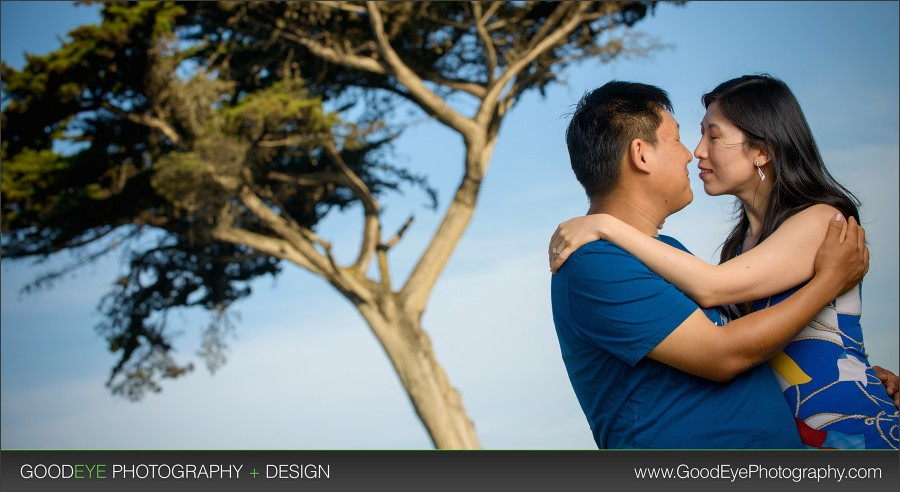 Lovers Point Engagement Photos - Pacific Grove - By Bay Area Wedding Photographer Chris Schmauch www.GoodEyePhotography.com
