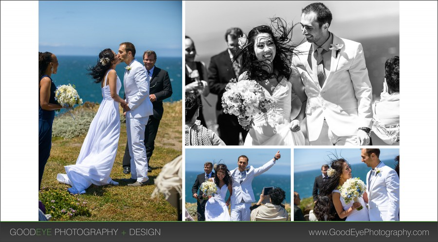 Panther Beach Elopement Photos - Sandi and Andrei - Photos by Bay Area Wedding Photographer Chris Schmauch www.GoodEyePhotography.com